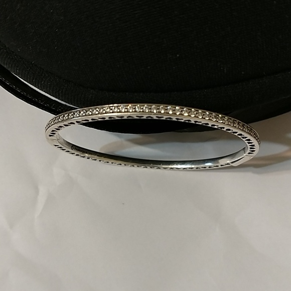 Pandora Jewelry - Radiant Hearts Pandora bracelet, cz, 925, enamel
